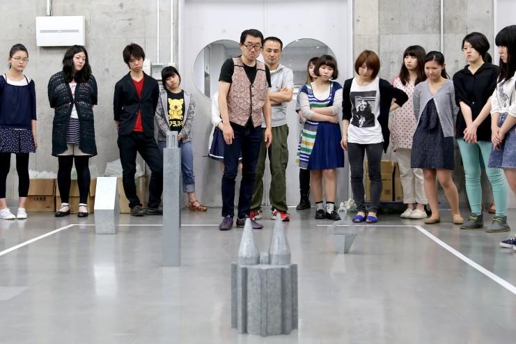 ミュゼオロジーと展示/作家の作品を使った展示の実践授業
