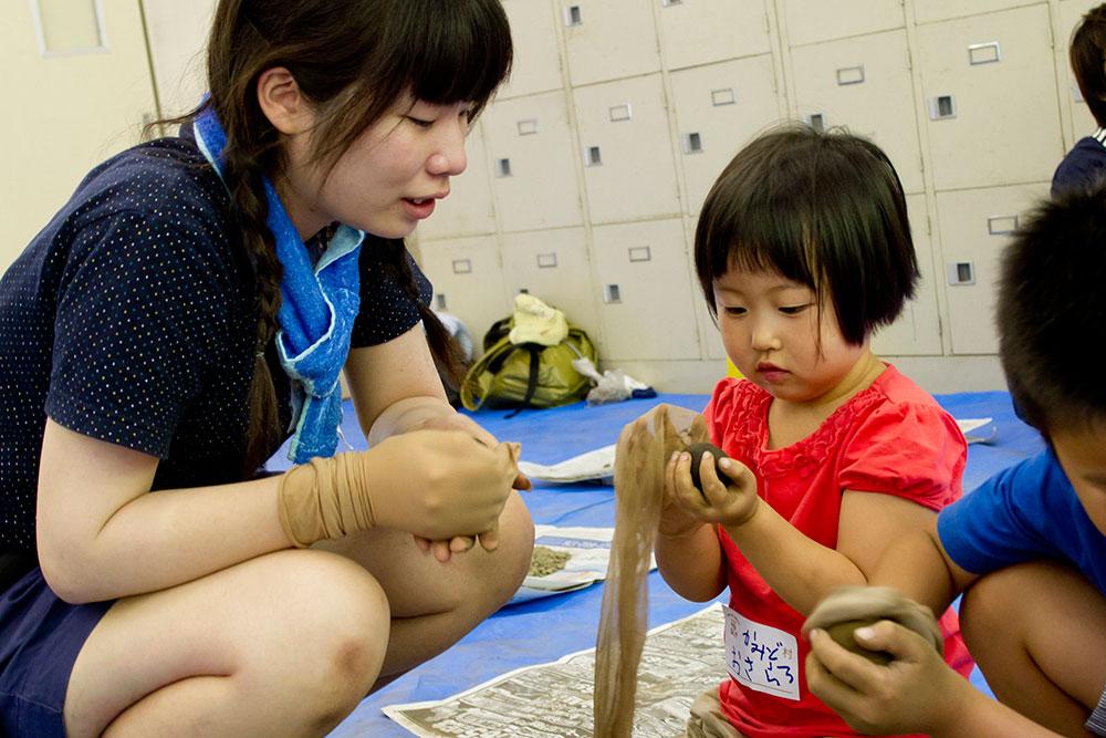 徳島県神山町で展開する造形ワークショップ