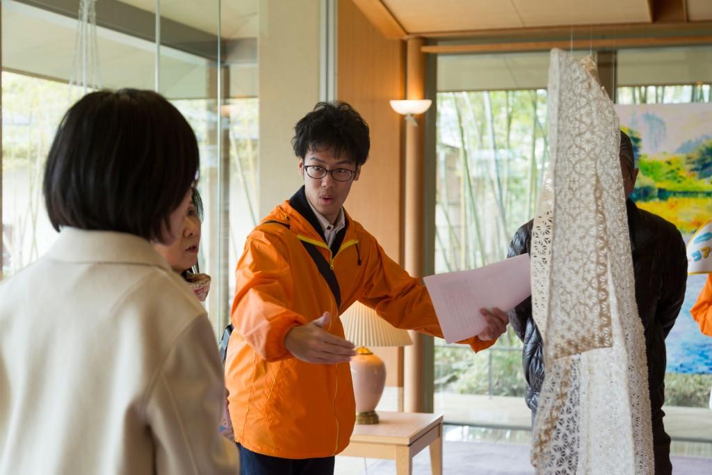 新潟県岩室温泉とアートのコラボレーション