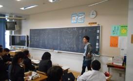 学級担任をしているクラスの道徳の授業