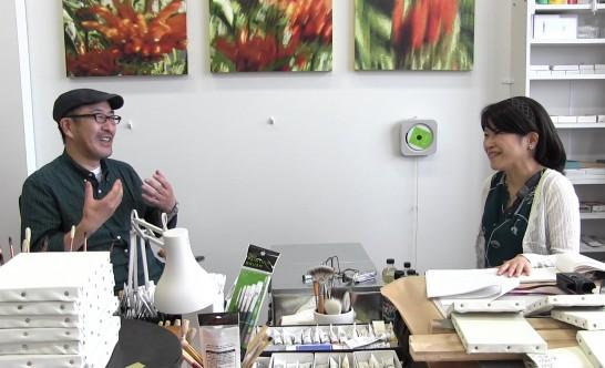 インタビュー・構成 河原啓子(同非常勤講師・アートジャーナリスト)