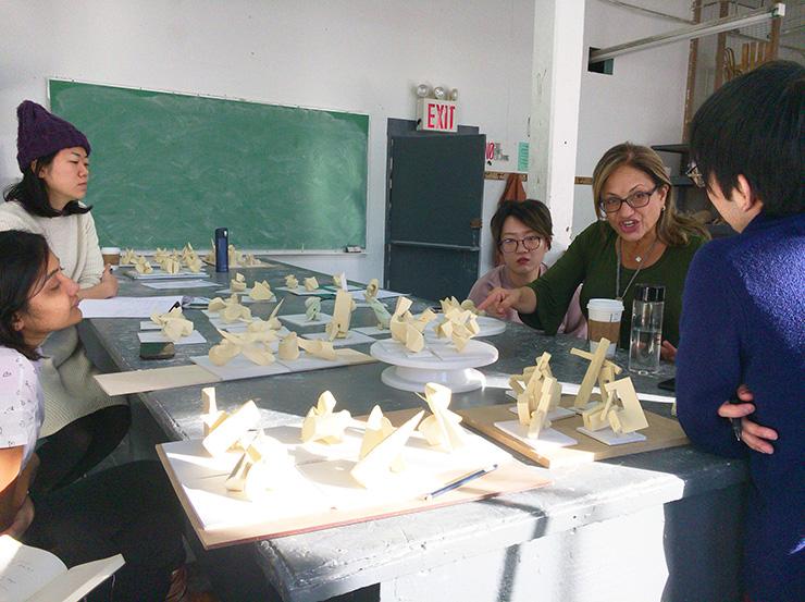 Pratt Instituteでの授業風景